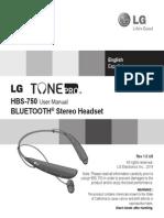 HBS750 Lg Tone Pro Manual Eng