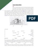 Definisi Dan Komponen Utama Boiler