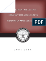 DoD Strategy for Countering Weapons of Mass Destruction Dated June 2014