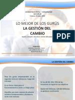 La Gestion Del Cambio (Version Final 10-10-12)