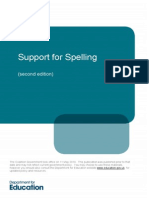 support for spelling