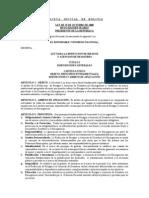 Ley2140 Gestion de Riesgos y Atencion de Desastres Bolivia