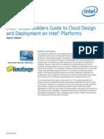 Cloud Builders Xeon Apache Hadoop Guide