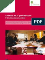 Guía 1 Analisis Planificacion y Evaluacion Escolar - Colegios Nuevos