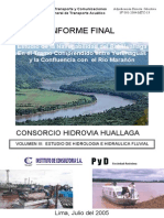 Hidrolog%C3%ADa e Hidr%C3%A1ulica Fluvial - Informe FinaL