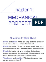 Mechanical Engineering Design L1 - Ch1-Mechanical_properties