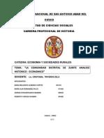Trabajo Monografico de Economia y Sociedaes Rurales