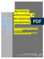 Bio-physics in Bio-medical-Engineering, in PDF [ Part - 1 ]
