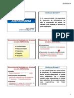 Revisão 1 - Atendimento Caixa - Prof. André Sandes