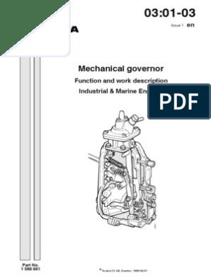 GOV MEC_WSM_0001158_01 | Lever | Throttle
