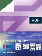 Automobile Industry Stu
