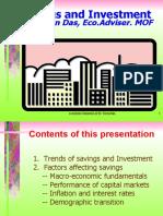 Economic Environment and Savings