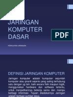 Jaringan Komputer Dasar 1