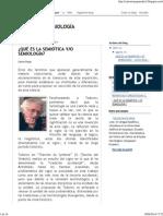 Rojas, Carlos - Qué Es La Semiótica Y-o Semiología
