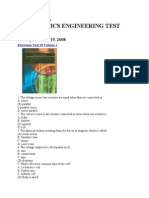 57815038 Electronics Engineering Test Question