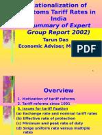 Tariff Fixation