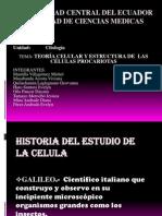 Teoría Celular y Procariotas