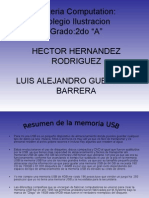 Resumen de La Memoria Usb (Power Point)