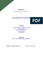 Software Libre y Pro Pietari o