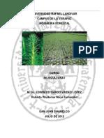 Silvicultura UNIDAD I