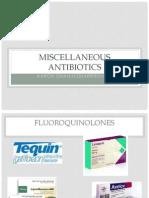 Misc Antibiotics