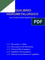 2.-EQUILIBRIO HIDROMETALURGICO