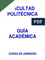 2014 Programa Curso y Examen Admision