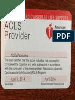 acls card