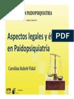 Diapo Aspectos Legales Eticos Paidopsiquiatria