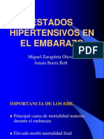Estados Hipertensivos Del Embarazo