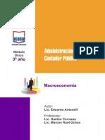 3o Ano - Macroeconomia - Todas Las Sedes