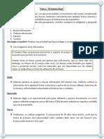 4 Básico-ficha Remedial Ciencias, Julio 2012