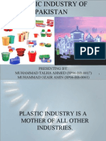 Plastic Industry of Pakistan