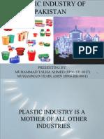 Plastic Industry of Pakistan