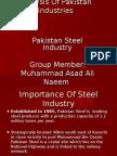 Steel Industry pakistan