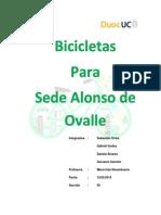 Bicicletas Para Sede Alonso de Ovalle
