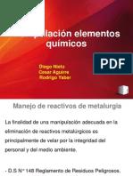 Reactivos metalurgico