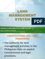 Land Management System & Carper