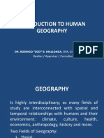 Introduction to Human Geography (1)