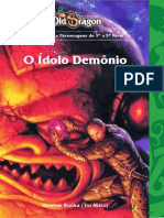 Old Dragon Rpg Aventura Idolo Demonio Newton Nitro