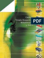 Catálogo Terapia Ocupacional Rehabilitacion y Avds