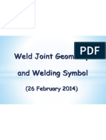 Weld Joint Geometry