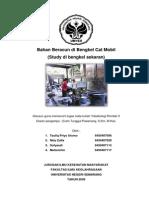 Bahan Beracun Di Bengkel Cat Mobil