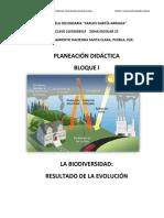 Planeación Primer Bimestre Biología