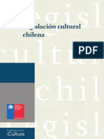 Libro Legislacion Cultural CHILE