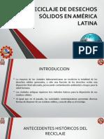 Reciclaje de Desechos Sólidos en América Latina