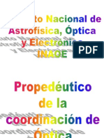 Calculo Vectorial Propedeutico Optica 2012 0. Introduccion