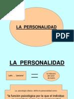 Diapositivas de La Personalidad