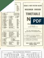 CNW Wisc Div TT #4 Jun 6 1971