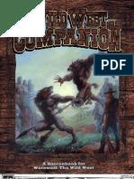 WtWW - Storyteller's Companion